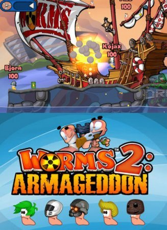 Worms 2: Armageddon на андроид