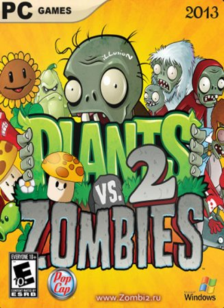 ����� ������ �������� 2: ����� ����� / Plants vs. Zombies 2: It�s About Tim ...