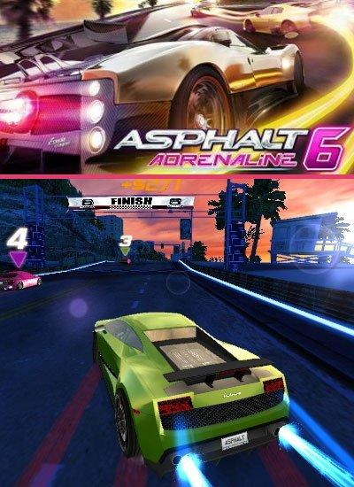 Asphalt 6 adrenaline hd android
