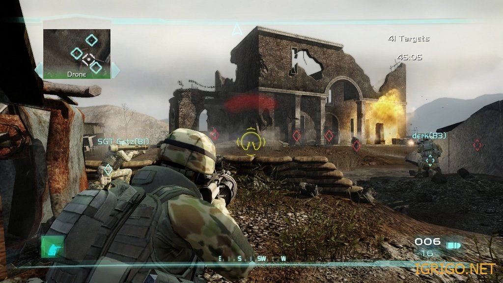 скачать игру Tom Clancy S Ghost Recon Advanced Warfighter 2 - фото 5