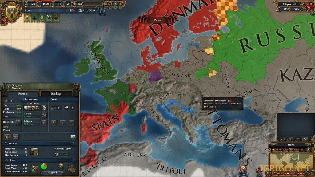 Как сделать свою страну в европе 3