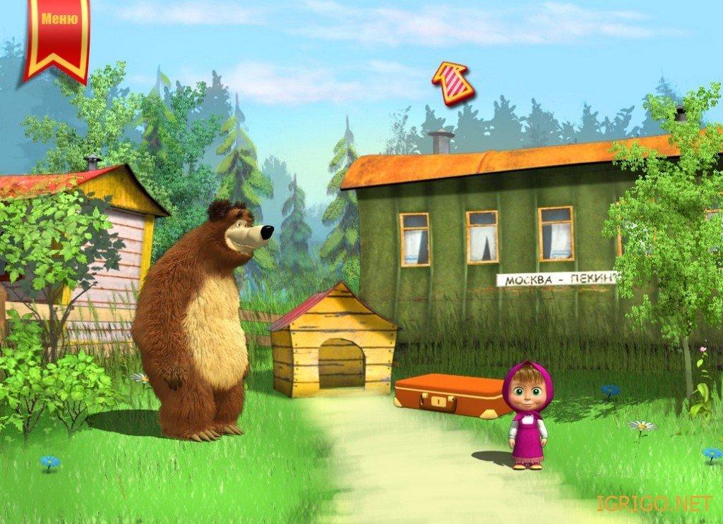 нормальных картинка маша и медведь на дороге опытные заводчики кинологи