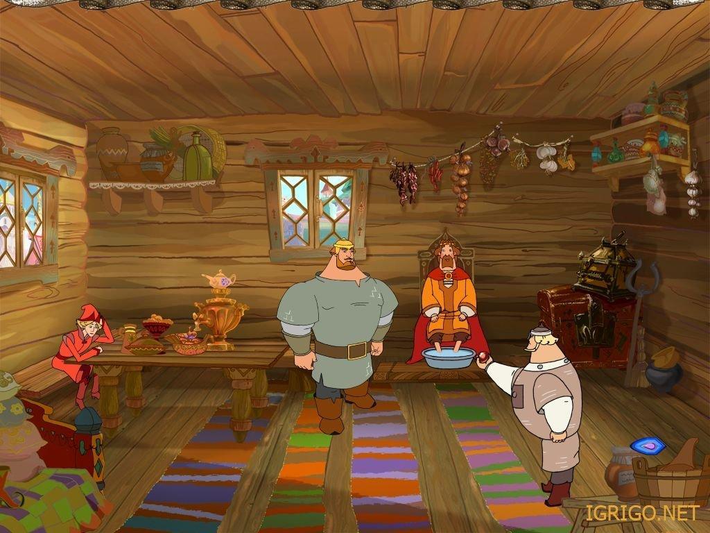 Скачать онлайн игру три богатыря и шамаханская царица сюжетное - ролевая игра доктор в детском саду