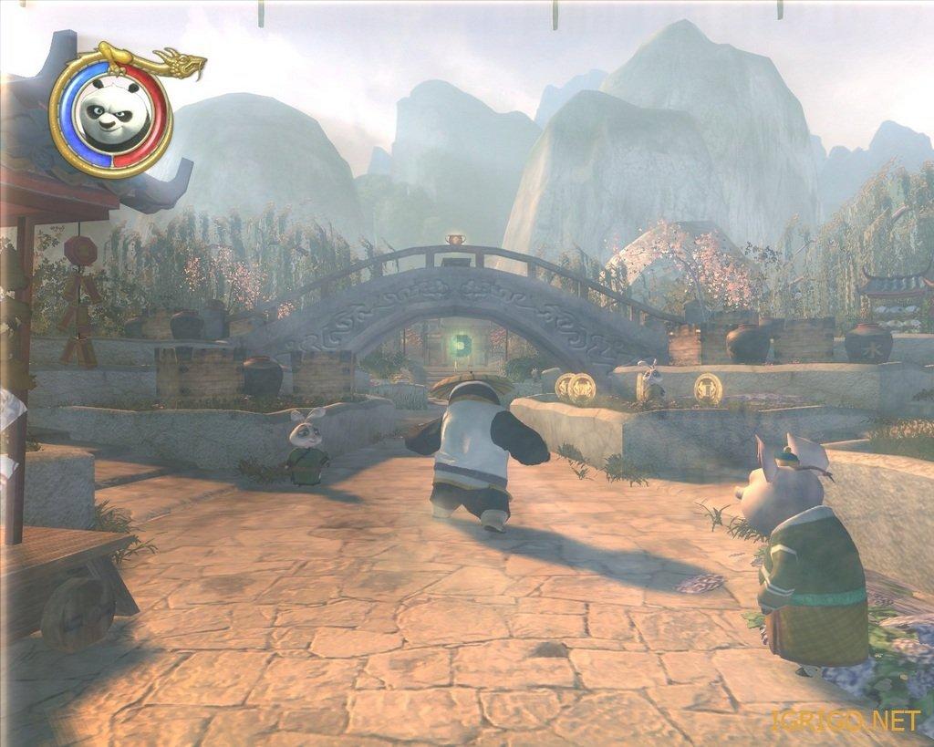Кунг фу панда игра скачать бесплатно русскую версию (1,76 гб).