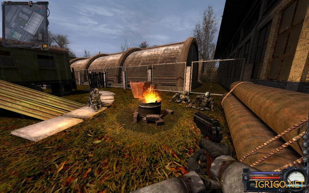 скачать игру сталкер чистое небо бесплатно на компьютер на Windows 7 - фото 2