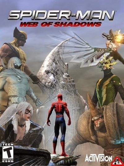 скачать бесплатно на компьютер игру человек паук паутина теней - фото 5