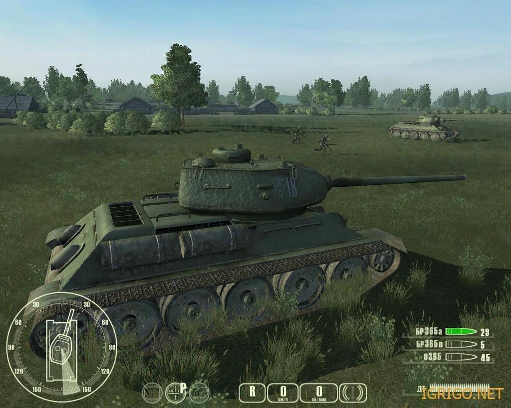 Симулятор танка т 34 против тигра скачать