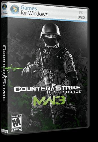 скачать игру Counter Strike Source Modern Warfare 3 через торрент - фото 10