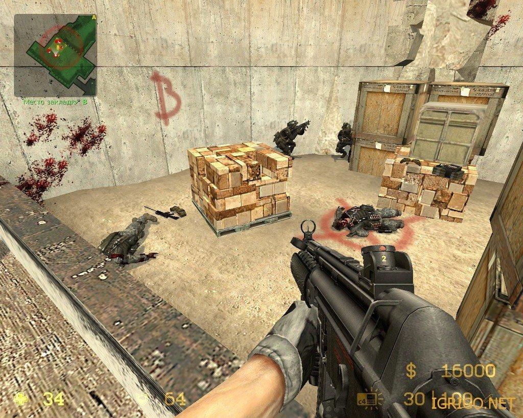 скачать игру Counter Strike Source Modern Warfare 3 через торрент - фото 9