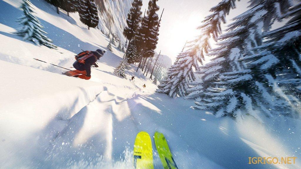 Игра лыжи на компьютер скачать