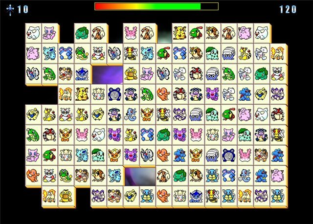 Маджонг коннект: покемоны — играть онлайн бесплатно.