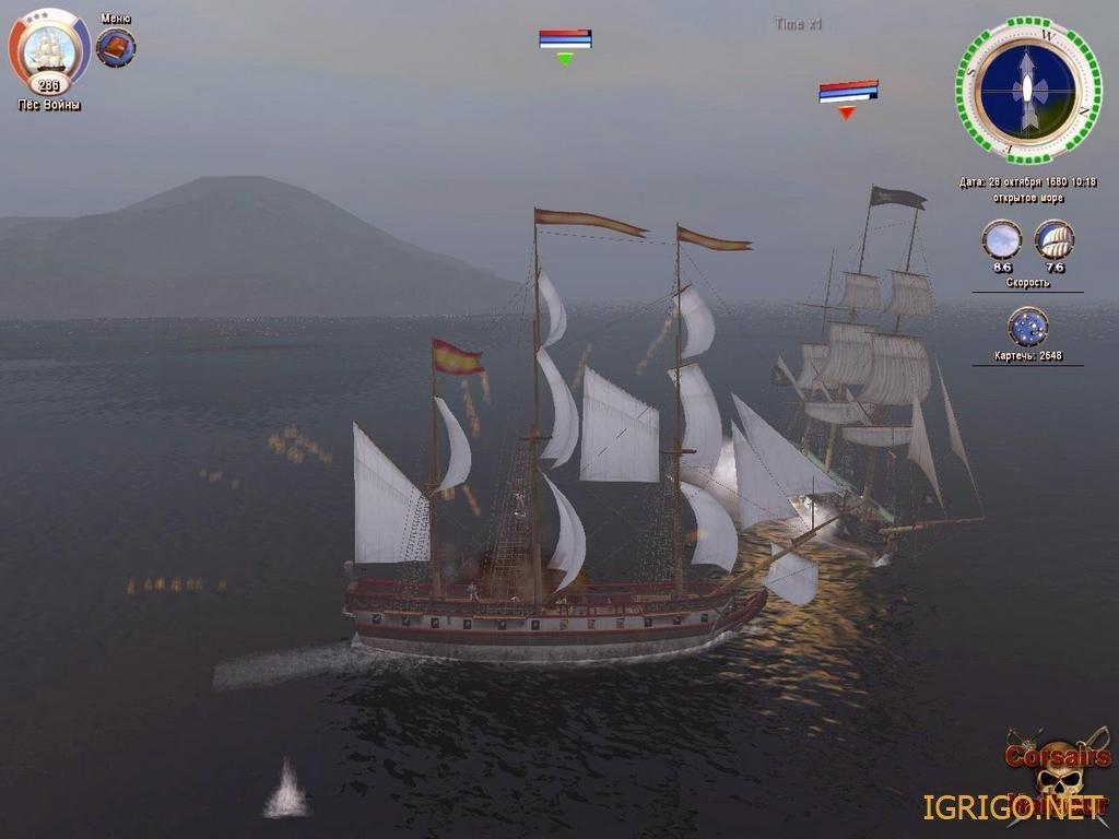 Корсары 3 тайна дальних морей модели кораблей