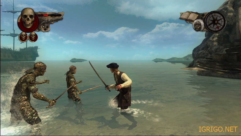 скачать игру пираты карибского моря 3 через торрент на компьютер - фото 5
