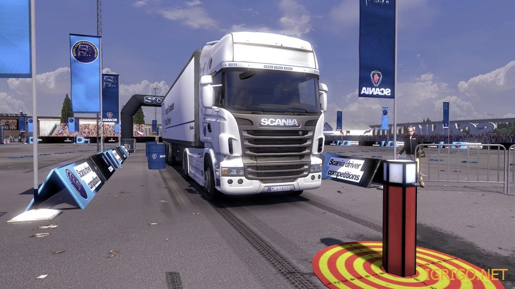 Scania Truck Driving Simulator Обзор Игры
