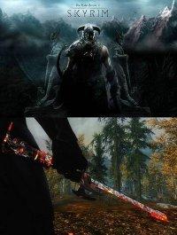 Пепельный Клинок для The Elder Scrolls 5: Skyrim