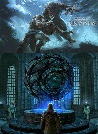 Psijic Teleport Spells для The Elder Scrolls 5: