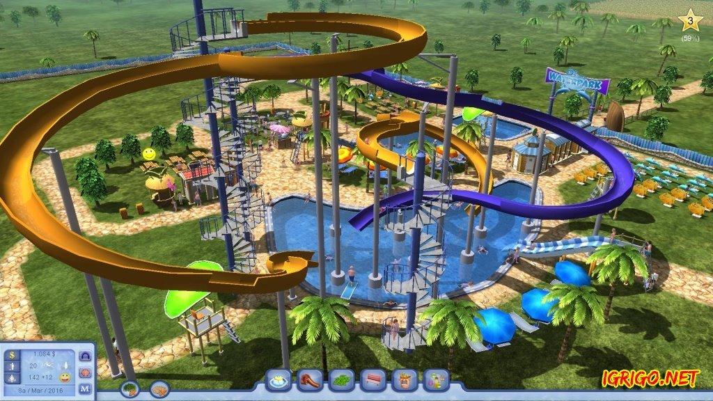 Скачать симулятор аквапарка через торрент