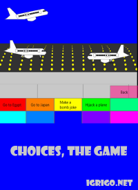 Choices, The Game