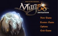 Screen 6 Mage's Initiation: Reign of the Elements